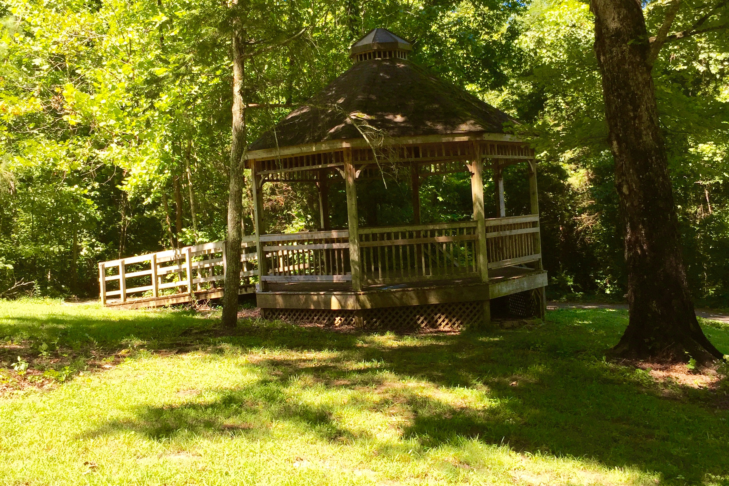 Gazebo at Fletcher Park