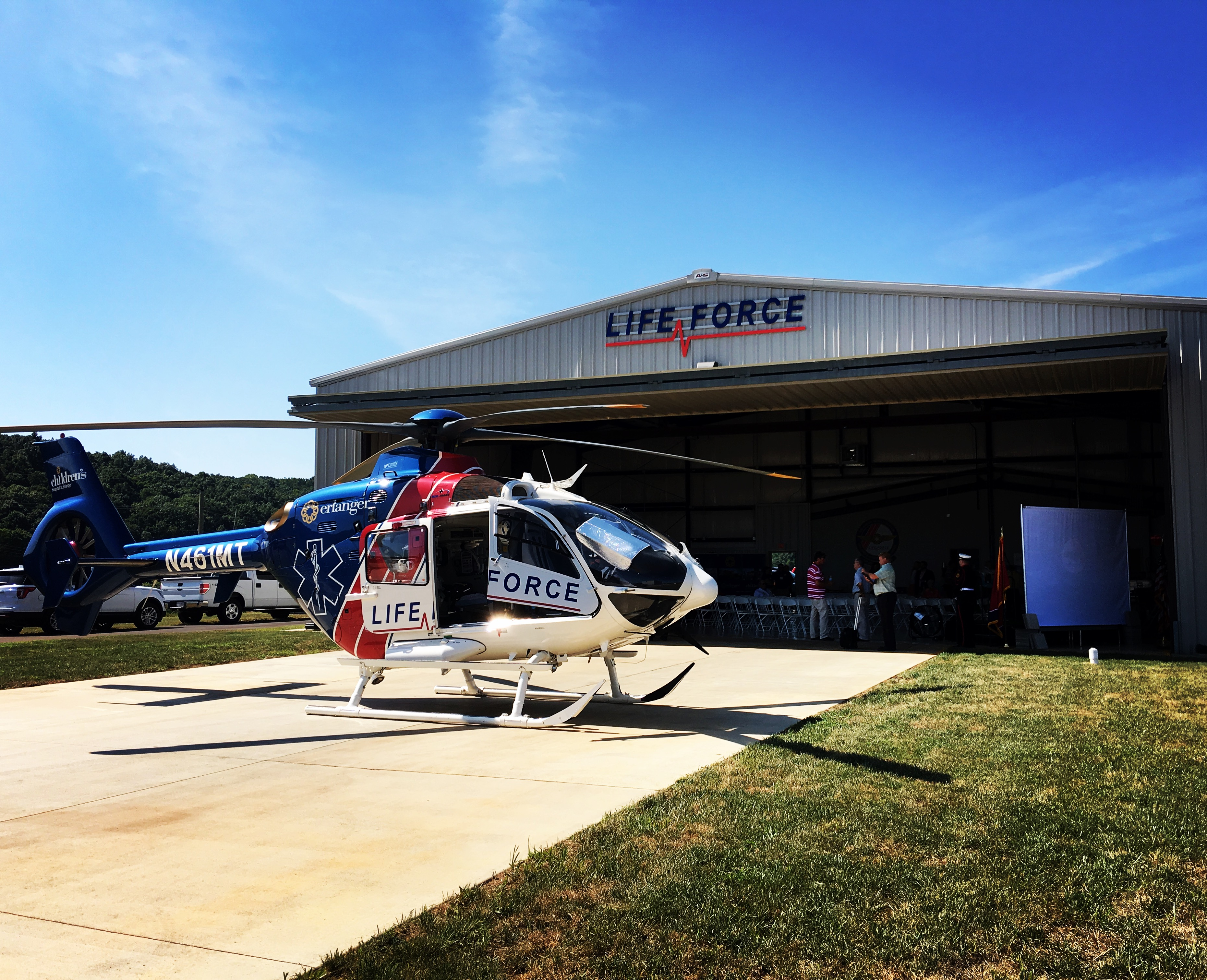 Life Force Helicopter