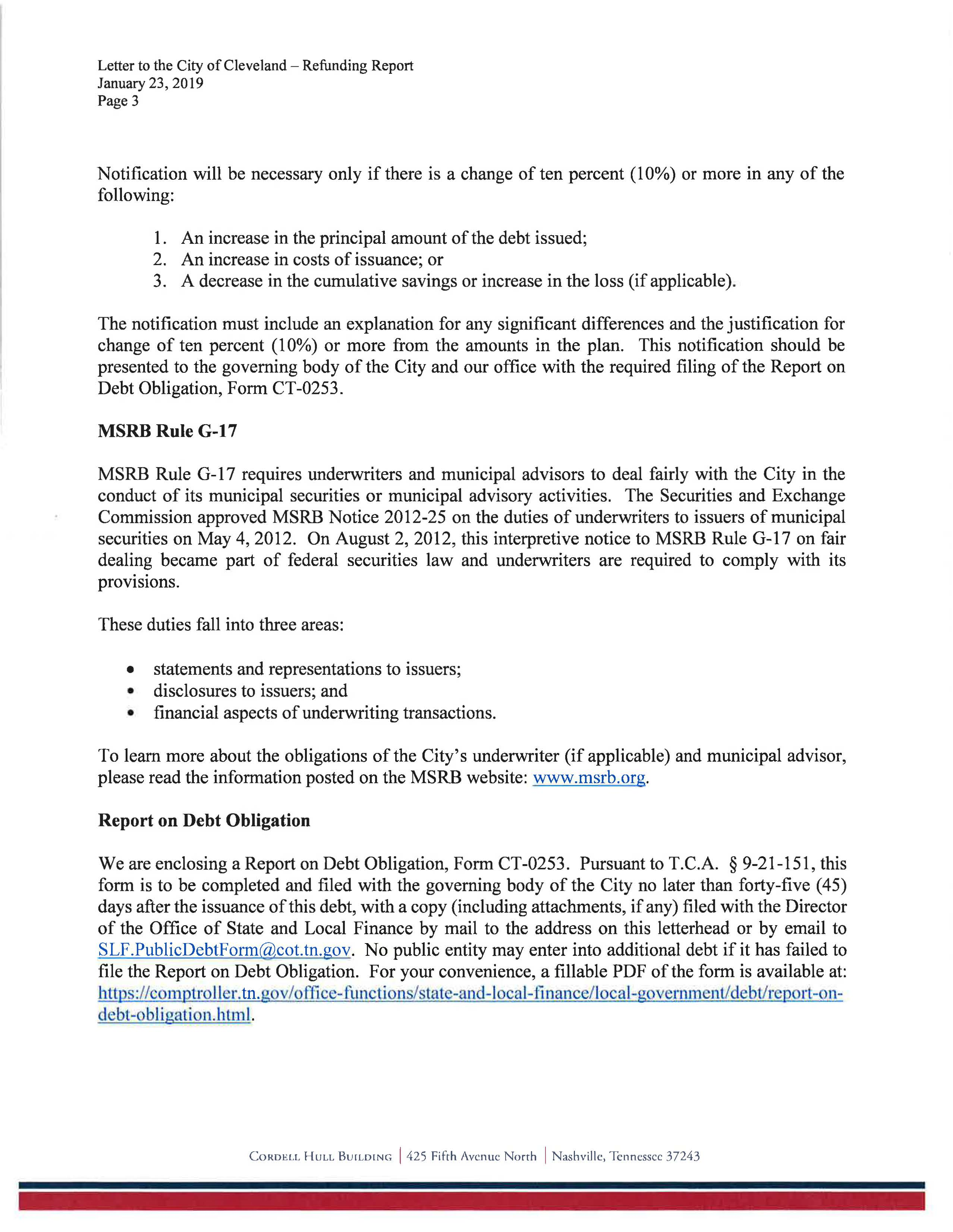 Letter to the City of Cleveland General Obligation Bonds Series 2019 - 3.jpg