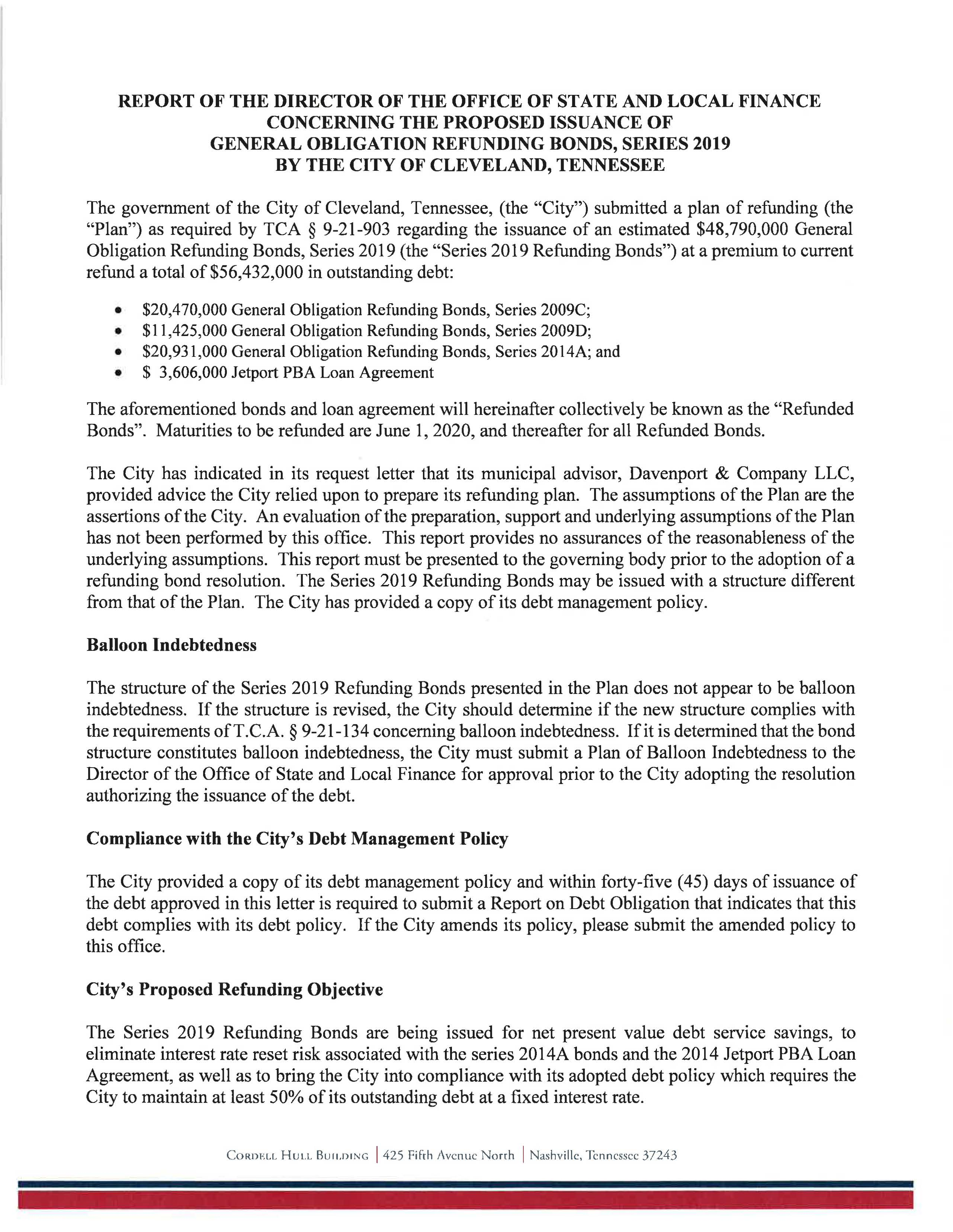 Letter to the City of Cleveland General Obligation Bonds Series 2019 - 6.jpg