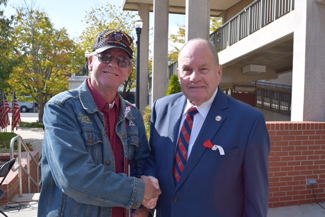 Mayor and 2016 Veteran Ceremony chair.jpg