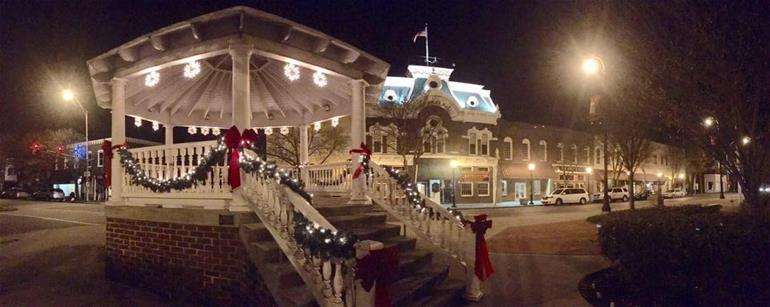 Craig Miles Opera House and bandstand